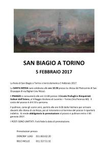 invito san biagio 2017